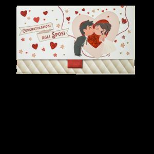 Biglietto Pochette Matrimonio Congratulazioni agli Sposi