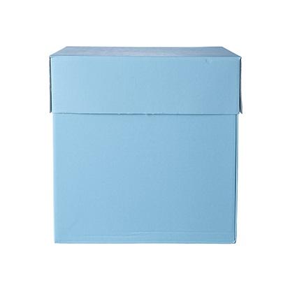 Box Surprise Azzurra Piccola è una scatola sorpresa pensata per regali di piccole dimensioni.