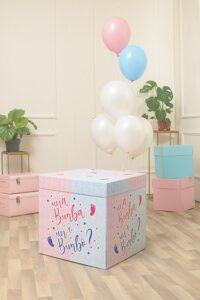 box surprise baby shower