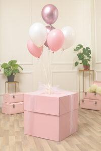 Box Surprise Rosa 50 x 50 x 50