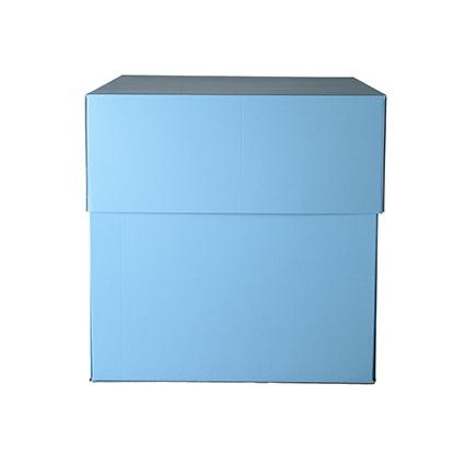 Box Surprise Azzurra Grande è una scatola sorpresa pensata per regali di medie dimensioni.