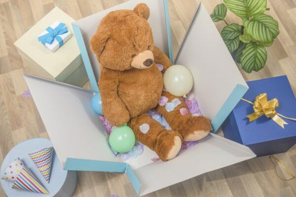 pacco sorpresa blu